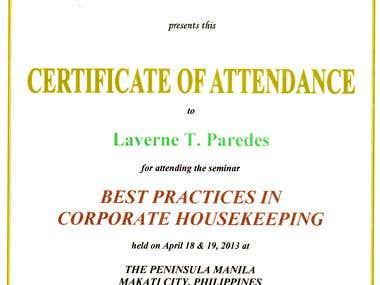 Corporate Secretary Seminar