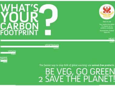 Carbon Footprint Banner