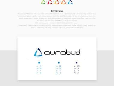 Web Design of Aurabud
