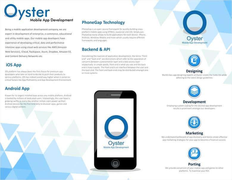 IT Industry Brochure Template | Freelancer
