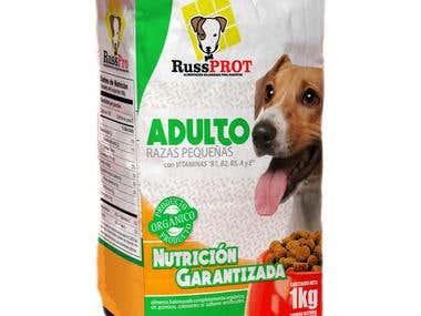 Empaque de Producto | RussPROT | Comida para mascota