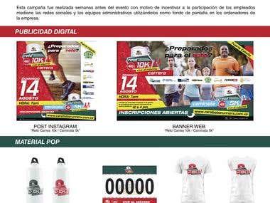 Campaña Grafica | VOPAK | Carrera 400 años