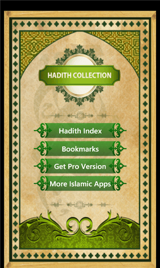 Hadith Collection Mobile App