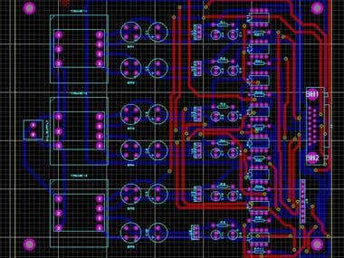 PCB Design in Proteus
