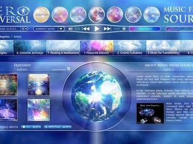 Zero Universal -an online music platform
