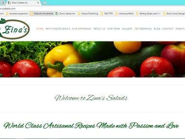 WEB CONTENT OVER 50 FOOD OFFERINGS