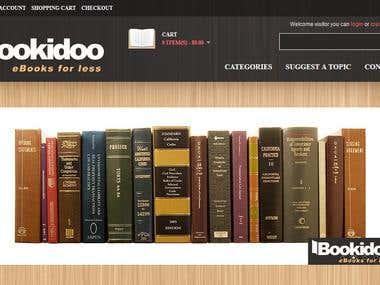 Bookidoo - Opencart Site