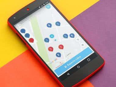 EstacionAr App - Free Parking Collaborative