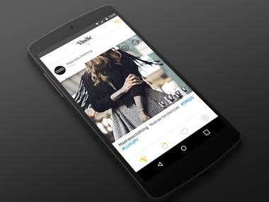 Vindie - Fashion Indie Gallery and Social app