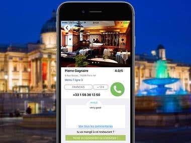 Lacuiliere - Restaurant App