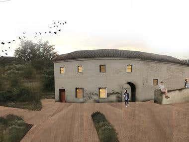 Riconversione edifico rurale