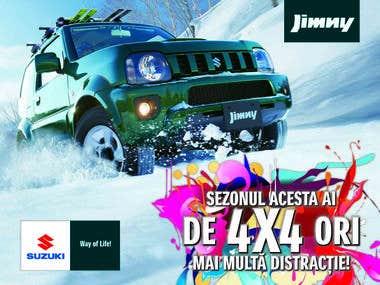 Campaign advertising - Suzuki Romania