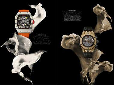 The Peak Magazine Watch Spread