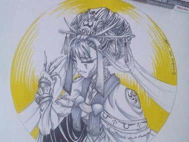 Traditional illustrtaion