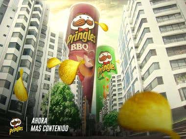 Pringles - photo manipulation