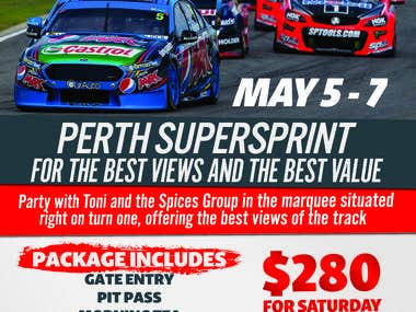 Supercars Perth Flyer
