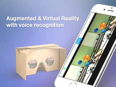 Augmented Reality and Virtual Reality iOS application