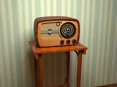Ламповый радиоприемник VEF Super 557