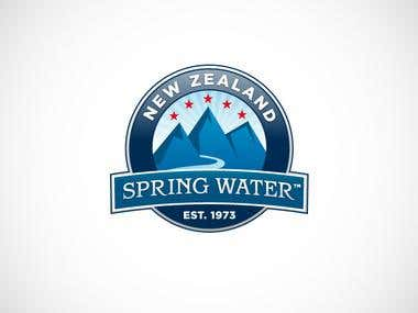 NZ Spring Water logo
