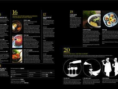 Korean Cuisine Photography Art Direction / Design / Layout