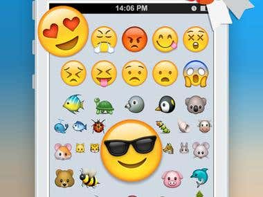 Emoji 2 Emoticons Art App Free