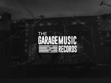 Logo - The garage music