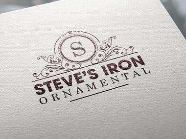 Logo-Steve's Iron