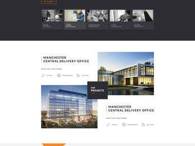 INDUSTRIAL CONSTRUCTION WEBSITE