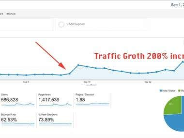 Rank website Google First Page with 200% conversion