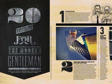 The Peak Magazine The Modern Gentleman Special
