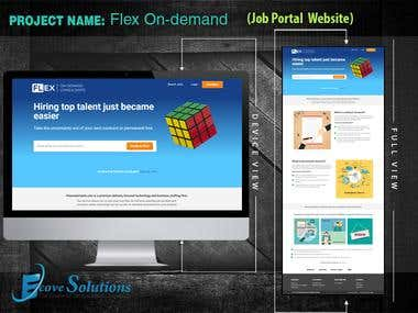 Flex On Demand (Job Portal)