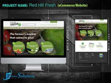 Red Hill Fresh (eCommerce Website)