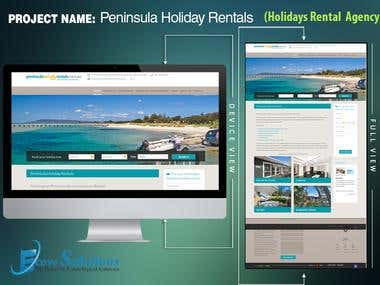 Peninsula Holidays Rental (Holidays Property Rental Website)