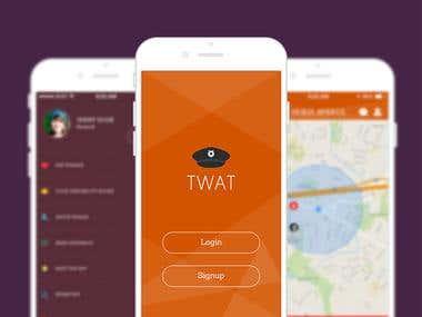 Traffic Warden alerting Tool app