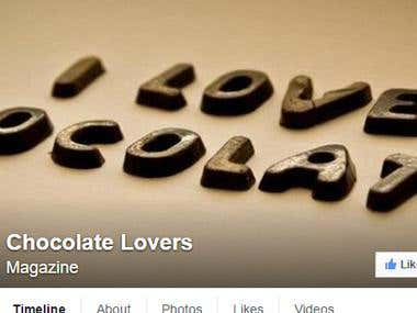 facebook marketing for chocolate lovers