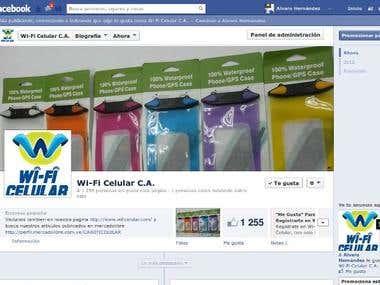 Wifi Celular Facebook Fanpage