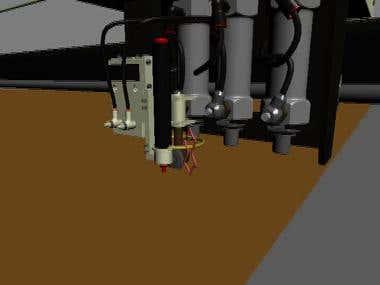 Machinery Animation