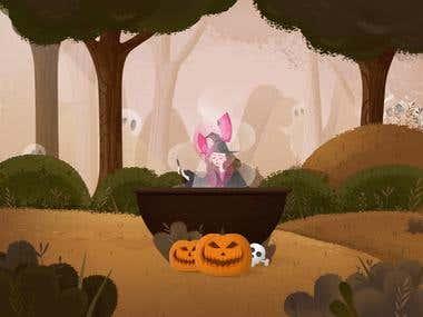 Halloween Queen + 2 invites