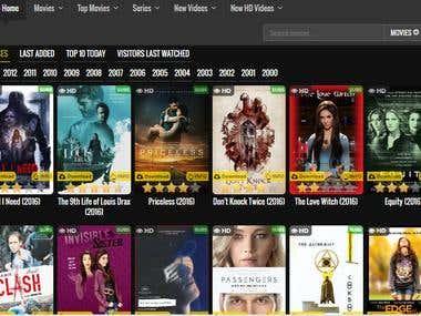 Movies Web Site 2