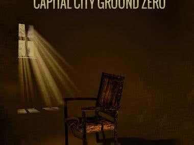 VENGEANCE Capital city ground zero -- book cover design