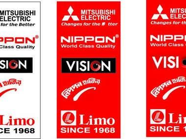 Banner Design, Company Cover, Carton Design Power Point