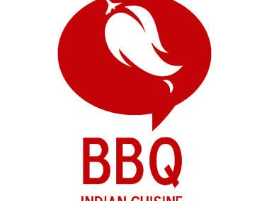 BBQ Indian Cuisine Logo