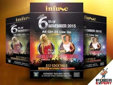 I can design an awesome flyer design