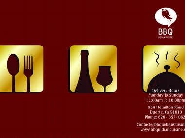 BBQ Indian Cuisine Go Menu(Brochure)