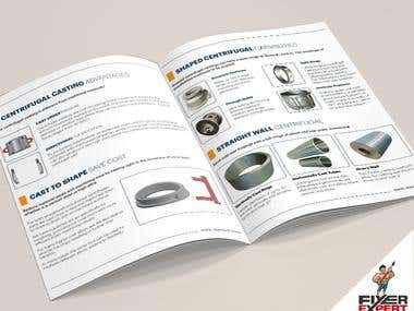 I can design an A4 pages Catalog Product Brochure