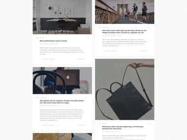 E commerce online store