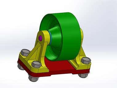 Roller Bracket assembly