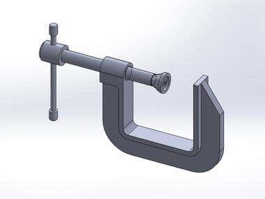 Assembly G-Clamp