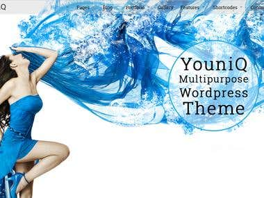 WORDPRESS THEME - FULL FROM SCRATCH
