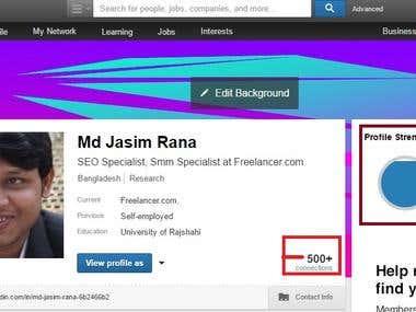 Social media linkedin,